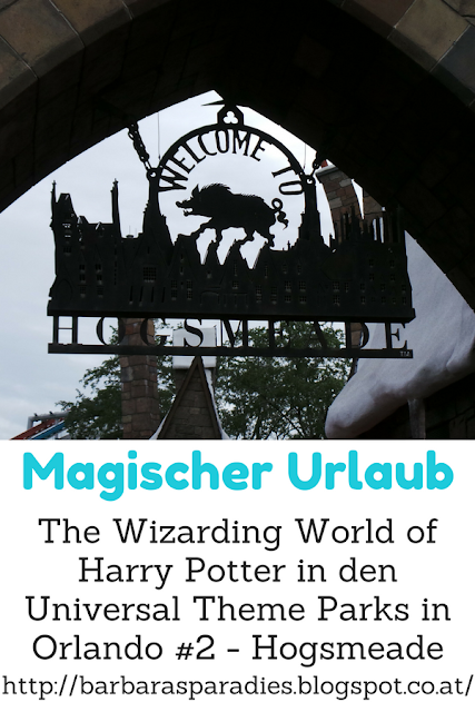Magischer Urlaub: The Wizarding World of Harry Potter in den Universal Theme Parks in Orlando #2 - Hogsmeade