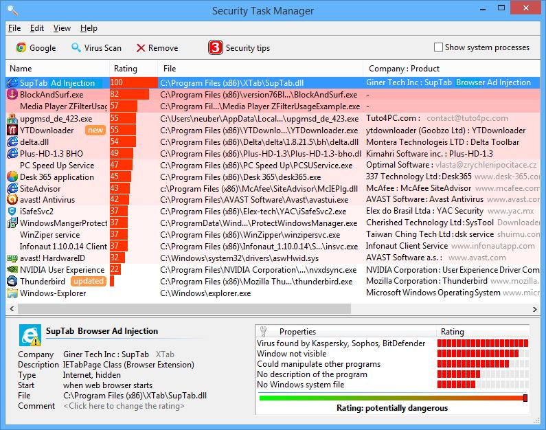 Security Task Manager Crack Download