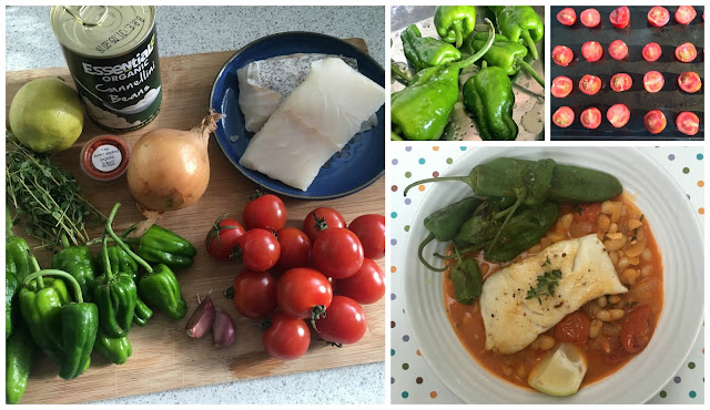 Pan-fried Pollock & Padron Peppers