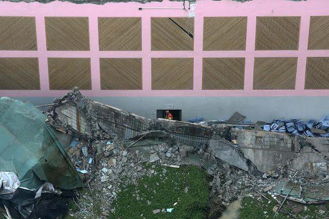 城市大學綠屋頂到塌