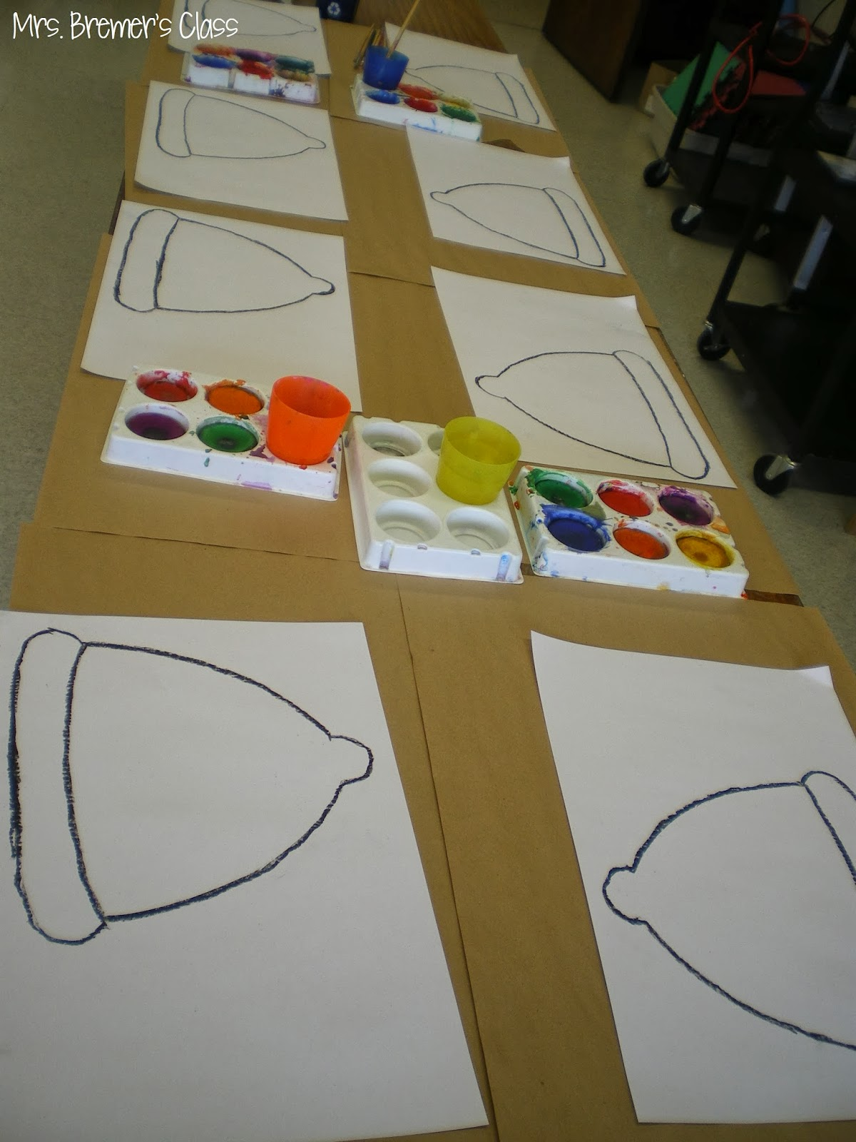 Mrs Bremer S Class The Hat And The Mitten Art Lesson