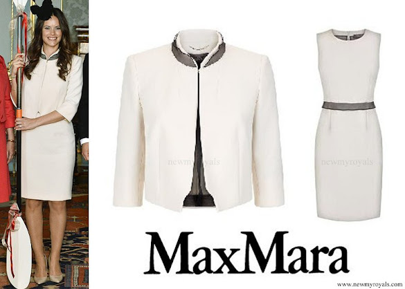Princess Sofia wore Max Mara Dress