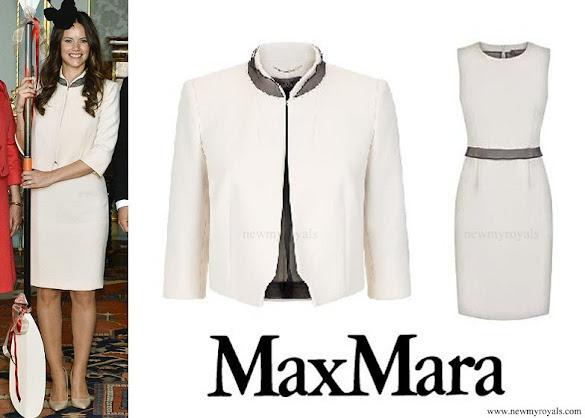 Princess Sofia wore Max Mara Dress