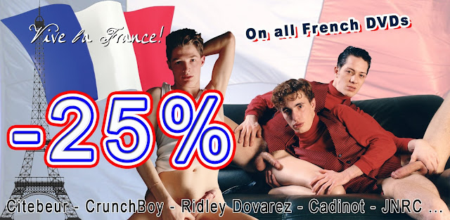 July Promo Gay Porn DVD French Gayrado Online Shop