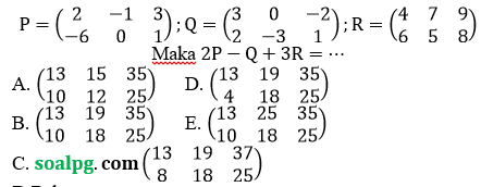 soal un sma matematika ipa