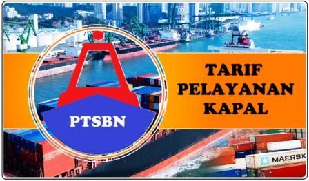 tarif pelayanan jasa kapal di pelabuhan, biaya sandar kapal dipelabuhan