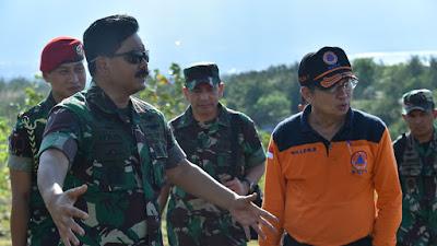 Panglima TNI Tinjau Rencana Lokasi Pemakaman