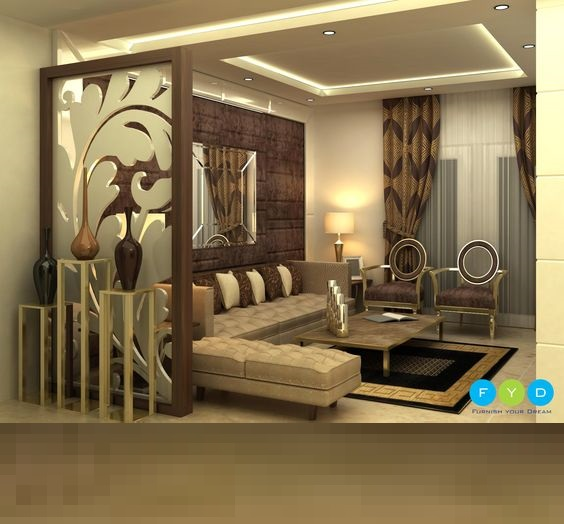 partition in home interior design