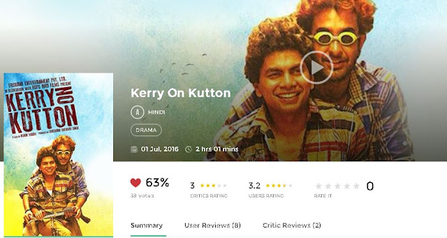 Kerry On Kutton 2016 Hindi Full Movie 700MB HD