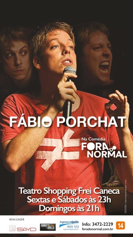 Poster do filme Fábio Porchat: Fora do Normal