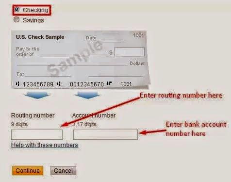 Entering PayPal Test Verification Amounts