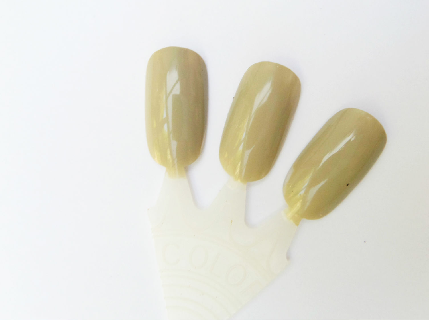 Barry M Gelly Nail Polish in Olive