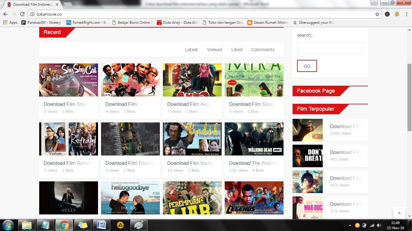 3 situs download film indonesia terbaru yang selalu update