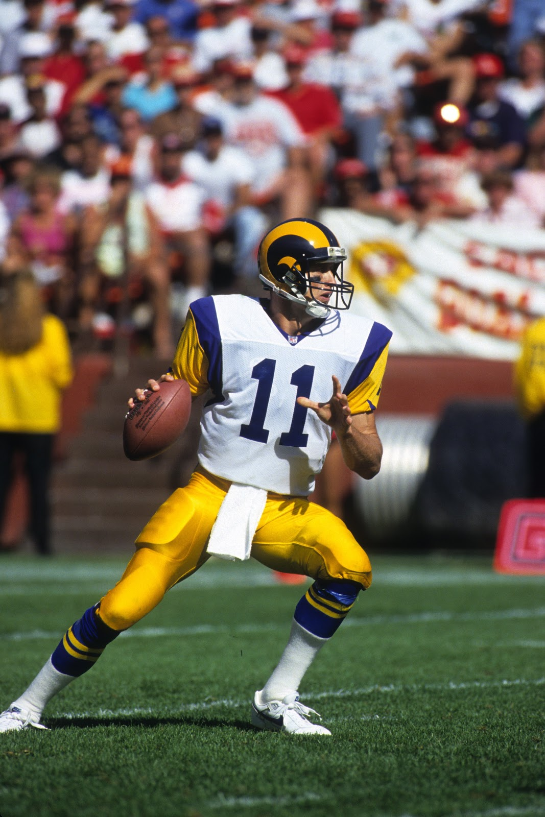 Patti's Ramblings: Jim Everett QB LA Rams Where Are They Now?
