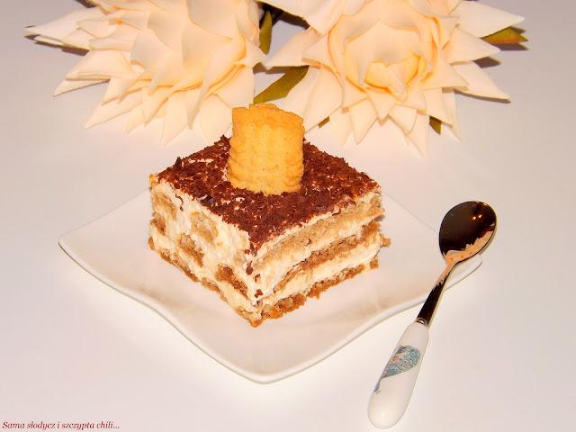 Tiramisu z ciasteczkami Brześć.