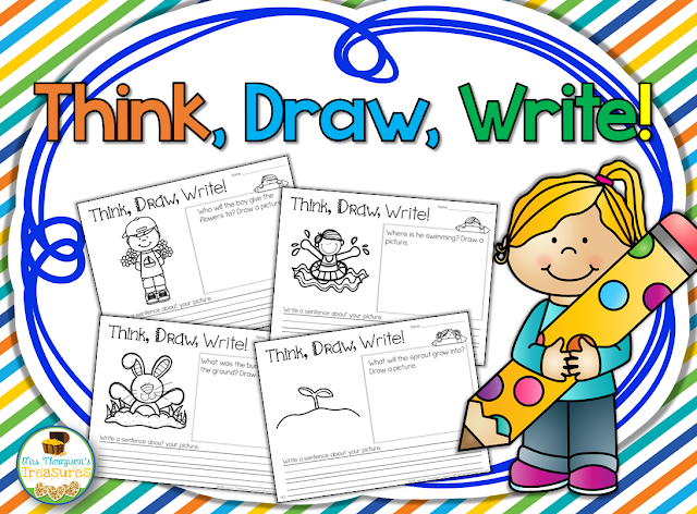 https://www.teacherspayteachers.com/Product/Think-Draw-Write-Beginning-Writing-Practice-1763111