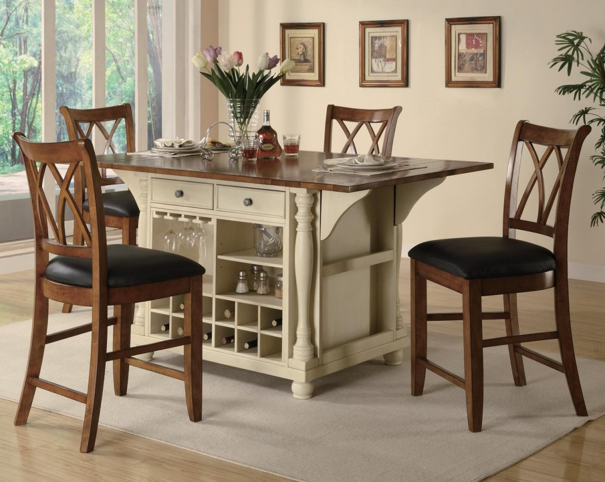 Kitchen And Dining Room Tables Cabinets Charlotte Nc Awesome Table With Wine Storage Chila