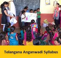 Telangana Anganwadi Syllabus