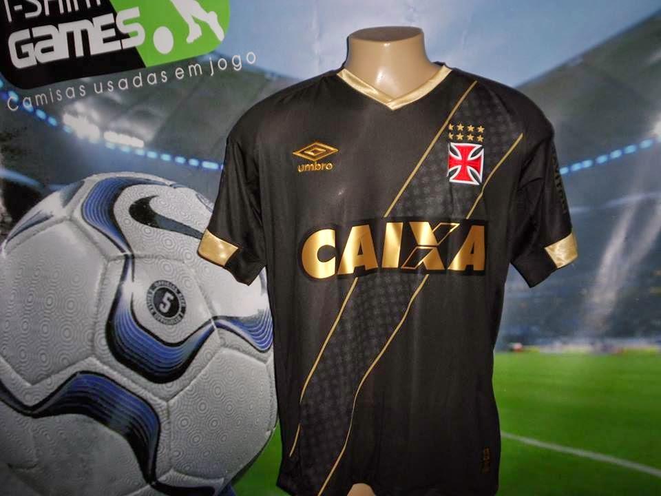 Camisas do Vasco da Gama  2015 16- Umbro (third) adb49a55955df