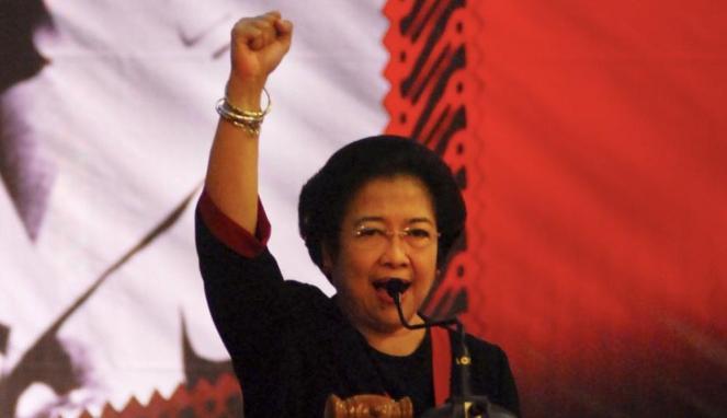 Megawati : 'Anak buah saya Ada yang digaplok Sama Orang. Kasihan, Anak ranting.'
