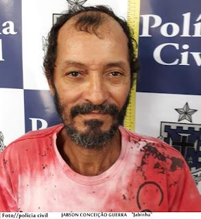 """Canavieiras: Após denúncia anônima jabinha é detido pela policia civil """" seu comparsa conseguiu fugir""""."""
