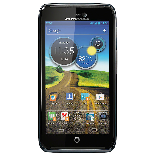 Motorola ATRIX™ HD Android Cellphone front