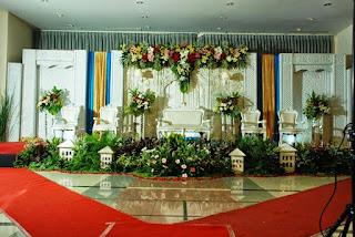 jasa dekorasi wedding minimalis