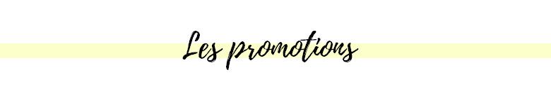 les promotions