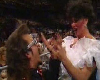 WWF / WWE SURVIVOR SERIES 1989 - Jimmy hart and Sensational Sherri