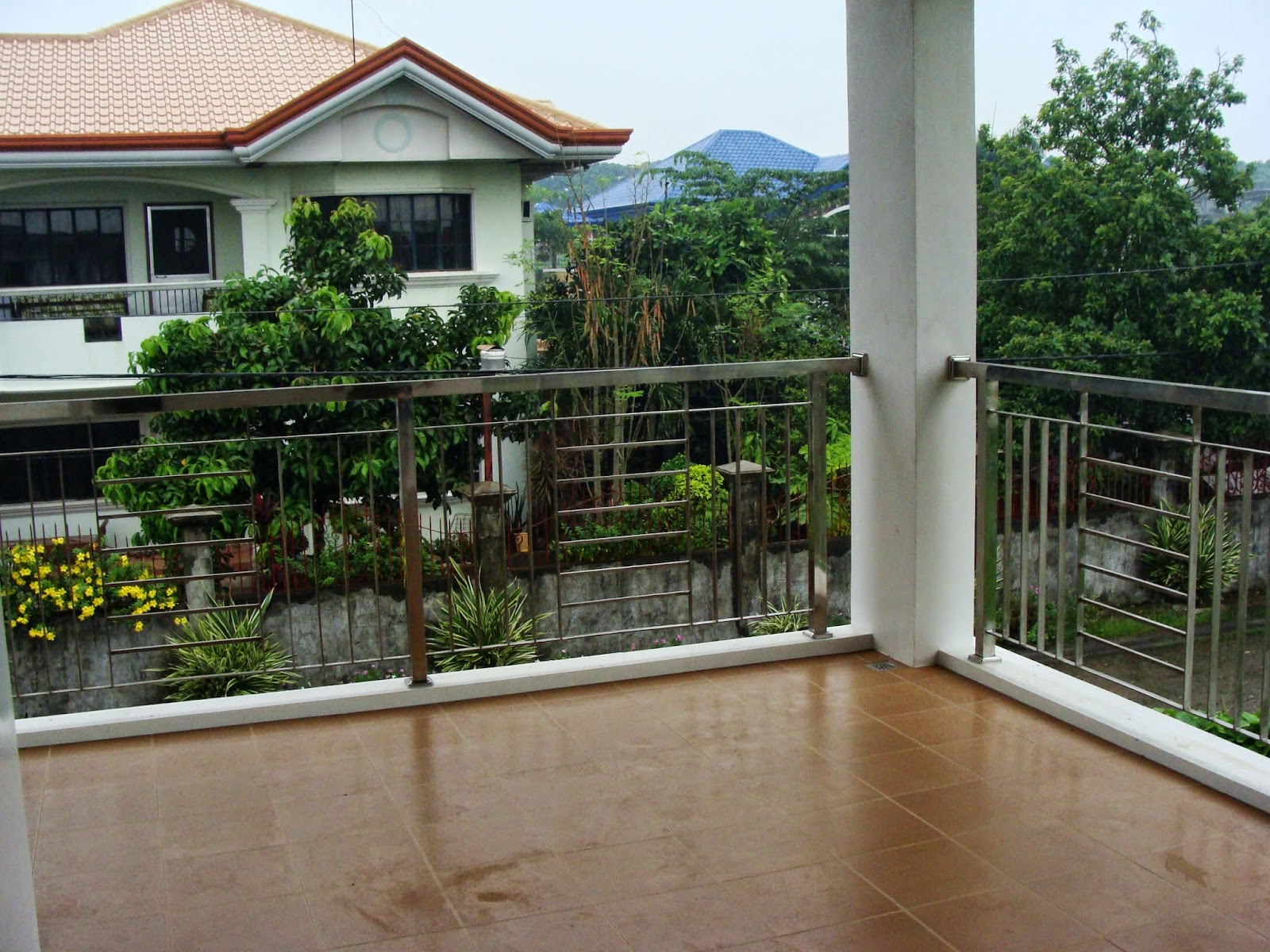 2 Storey Modern Small Houses With Gate Of Philippines