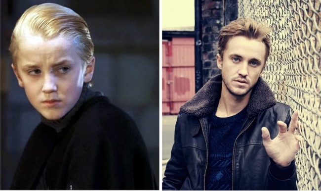 Draco Malfoy interpretado por Tom Felton