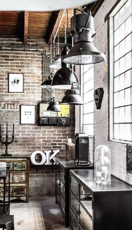 trendy loft interior design