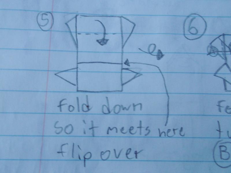 Origami Instructions | Um Hi Blog | 600x800