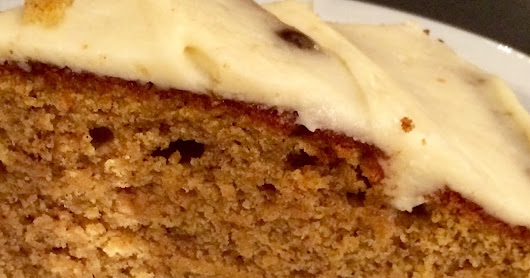 winter baking: pumpkin olive oil cake with browned butter glaze