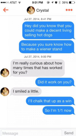good one liners for dating sites
