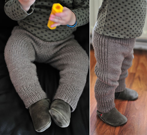Knitted Pants - Free Pattern