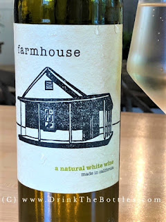 2017 Farmhouse White wine label