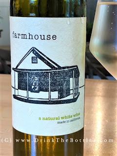 2017 Farmhouse White wine label