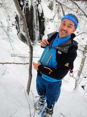 Даниил Воробьев, фото Андрея Думчева, Сочи, Водопад Кейву, зима