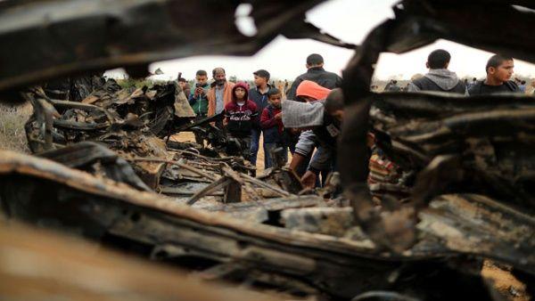 """Israel se prepara para """"operar con fuerza"""" en la Franja de Gaza"""