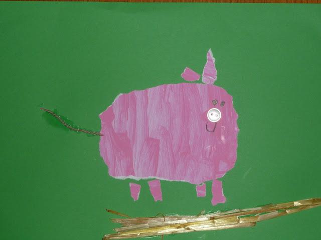 Kindergarten Schweine