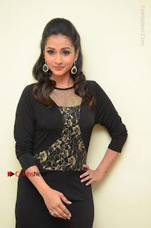 Telugu Actress Manasa Manohar Stills in Black Long Dress at Naku Nene Thopu Turumu Trailer Launch  0006.JPG