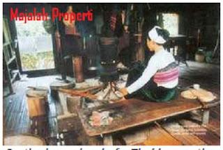Nama Rumah Adat Vietnam dan Desain Bentuknya, Interior Rumah Adat