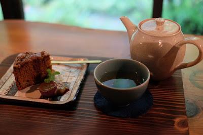 歩とり 藍茶と米粉とカフェオレシフォン