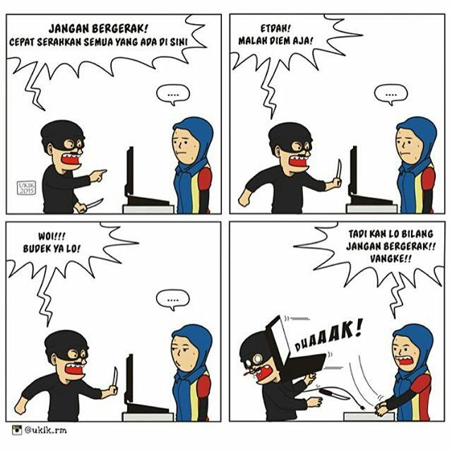 Gambar Komik Kartun Lucu Meme Kocak Sahabat Sok Borju Gengsi Gambar di Rebanas  Rebanas