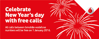 Mobile Phone company Bmobile-Vodafone announces free calls on New Year's Day