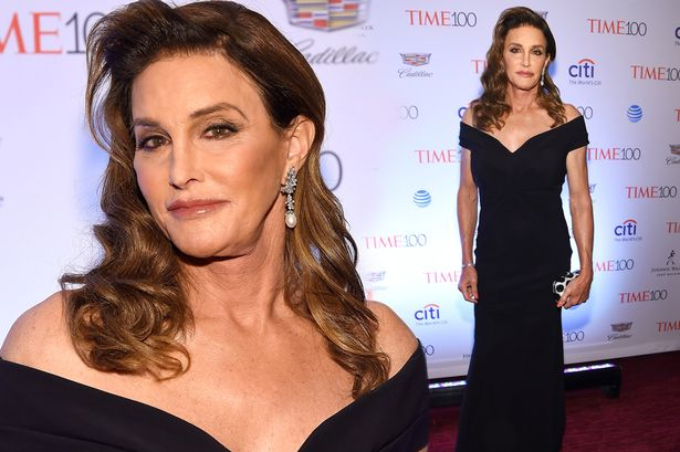 72a917f805d Caitlyn Jenner was oozing glamour as she made her mark on the red carpet at  the 2016 Time 100 Gala.