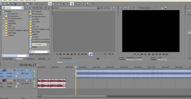 sony vegas tutorial - Cara komposisi audio