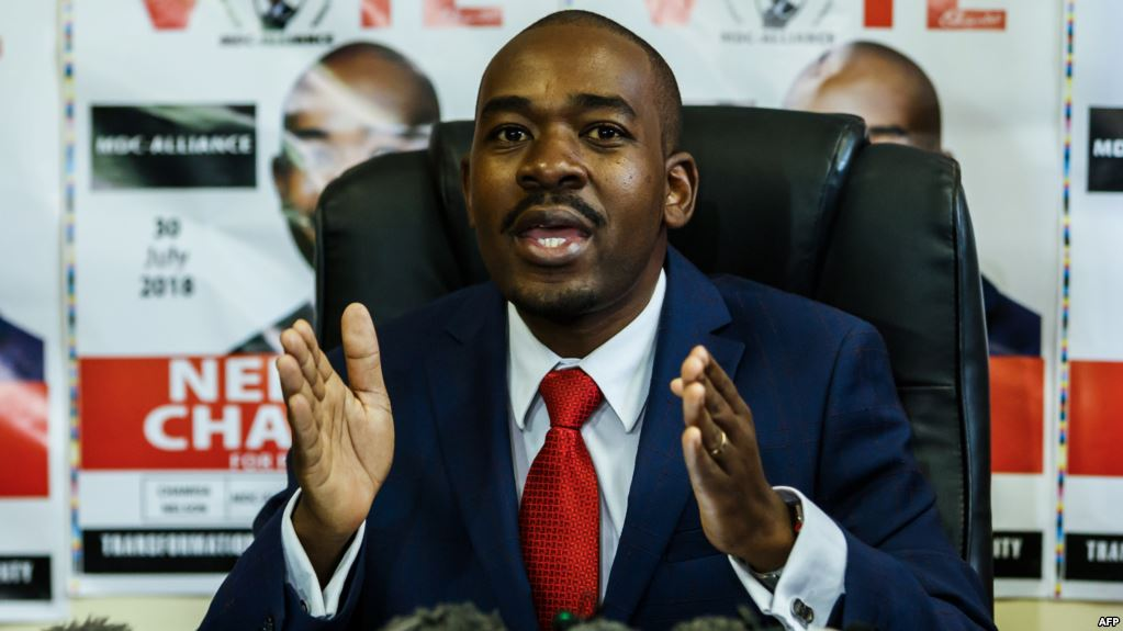 Nelson Chamisa In Make or Break Talks