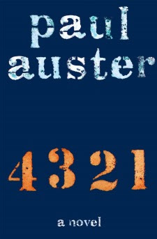 Paul Auster, Henry Holt and Co., 4321, Waiting on Wednesday
